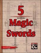 5 Magic Swords