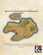Return to Senag Island: The Wizard's War