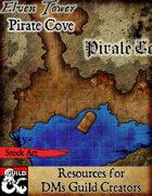 Pirate Cove - Stock Art