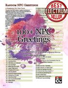 100+ NPC Greetings