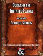 Codex of the Infinite Planes Vol 08 Plane of Shadow