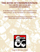 RU03: The Ruins of Undermountain - The Lanceboard Room and Librarium Environments