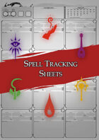 Class Character Sheets - The Spell Sheet
