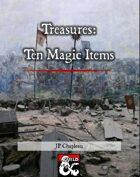 Treasures: Ten Magic Items