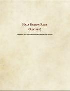 Half Demon Revised (Race)