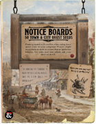 Notice Board: 50 Quest Seeds for Towns and Cities