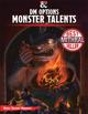 DM Options: Monster Talents (5E)