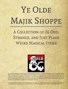 Ye Olde Majik Shoppe