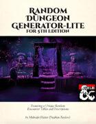 Random Dungeon Generator - Lite