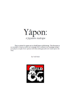 Yapon: A Japanese Analogue