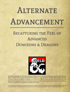 Alternate Advancement