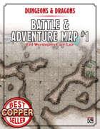 Battle & Adventure Map #01 - Evil Worshippers Cave/Lair (Printable Version)