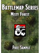 Battlemaps - Misty Forest Free Sample
