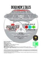 CCC-TRI-19 Dead Men's Tales (Part One of the Dead Men Series)