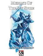 D&D Solo Adventure: Menace of the Icy Spire (5e Solo Conversion)