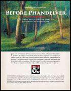 Before Phandelver - A Tutorial Adventure