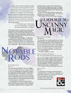 The Emporium of Uncanny Magic — Notable Rods