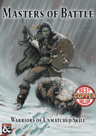 Masters of Battle - A 5th Edition Fighter Collection
