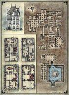 Printable Death House Maps