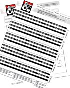 Adventurers League Season 8 Log Sheets