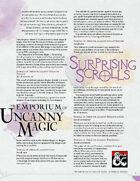 The Emporium of Uncanny Magic — Surprising Scrolls