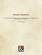 Wizard's Inception In Triboar