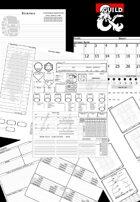 Character Sheets Modular