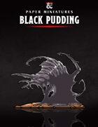 Black Pudding Paper Miniature