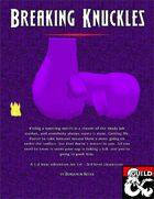 Breaking Knuckles