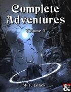 Complete Adventures of M.T. Black Vol. II