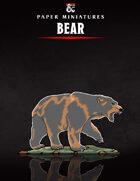 Bear Paper Miniature