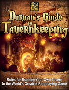 Durnan's Guide to Tavernkeeping
