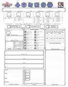 Reorganized Character Sheet