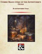 Cursed Magic items of the Adventurer's Guild