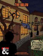 The Balov, A Horror Film Inspired Halloween Adventure