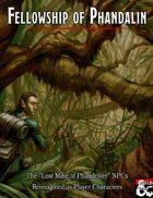 Fellowship of Phandalin: The NPCs of Lost Mine of Phandelver as PCs