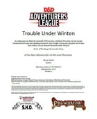 CCC-PP-TDD01-01 Trouble Under Winton