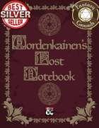 Mordenkainen's Lost Notebook (Fantasy Grounds)