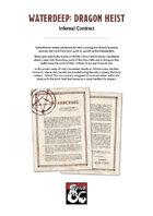 Waterdeep: Dragon Heist - Infernal Contract