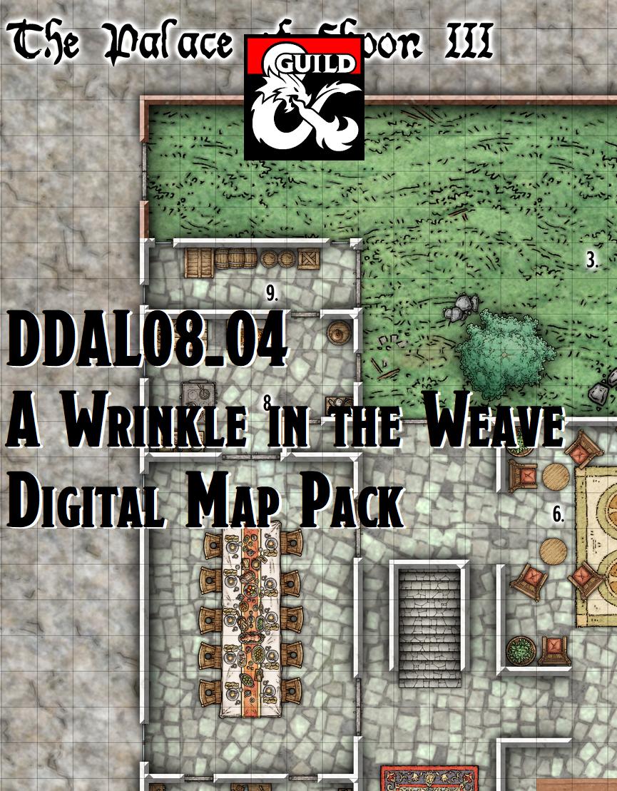 DDAL08-04 Digital Map Pack - A Wrinkle in the Weave