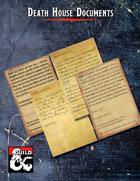 Death House Documents: Ephemera for Curse of Strahd