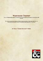 Warforged Subrace - Warforged Tempest