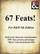 67 Feats! - Expanded List