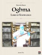 OGHMA, Lord of Knowledge ✧ Forgotten Realms 5e