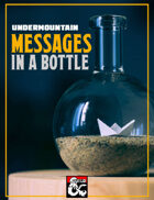Undermountain: Messages in a Bottle