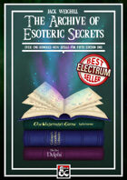 The Archive of Esoteric Secrets
