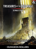 50 Magic Items - Treasures of the Mad Mage