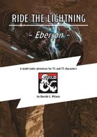 Ride the lightning - Eberron adventure - 13th moon shared campaign