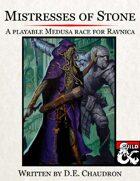 Mistresses of Stone: A Playable Medusa Race for Ravnica