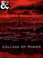 Bard College Of Power (5e)